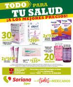 Ofertas de Soriana Súper, Folleto Farmacia Súper
