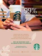 Ofertas de Starbucks, 99% porque siento