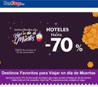 Hoteles hasta -70%