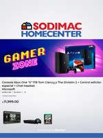 Ofertas de Sodimac, Gamer zone