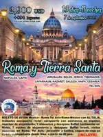Ofertas de RS Viajes, Roma y Tierra Santa 2019