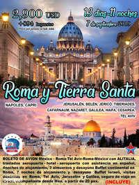 Roma y Tierra Santa 2019