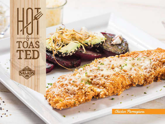 Ofertas de Super Salads, Hot & Toasted