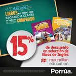Ofertas de Librería Porrúa, Descuento en libros de inglés