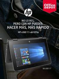 Con HP puedes hacer más, más rápido