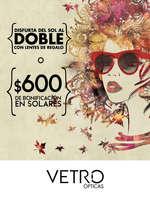 Ofertas de Vetro Ópticas, Promociones VETRO Ópticas