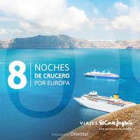 8 noches de crucero por Europa