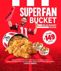 Super fan bucket