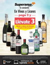 Superama te consiente en vinos y licores