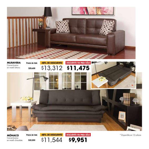 Sof cama en ciudad de m xico cat logos ofertas y for Donde venden sofa cama