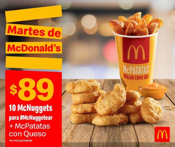 Ofertas de McDonald's, Martes de McDonalds