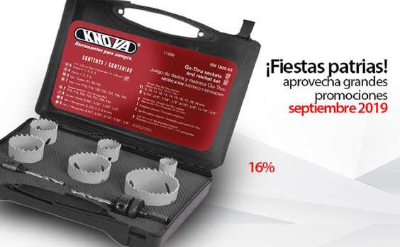 Ofertas de Knova, Aprovecha las promociones de septiembre