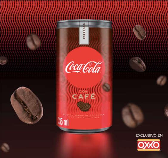 Ofertas de OXXO, Coca cola con café