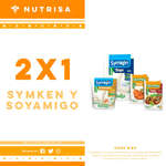 Ofertas de Nutrisa, Symken y soyamigo