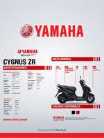 Ofertas de Yamaha, CYGNUS ZR