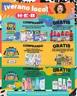 Ofertas de H-E-B, Verano Loco - Semanal