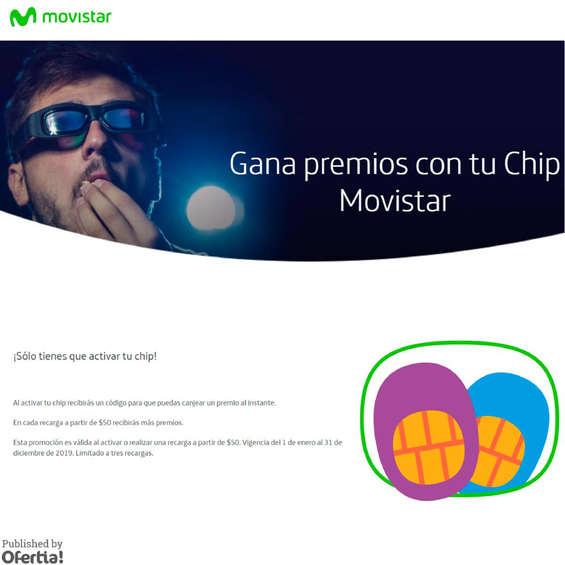 Ofertas de Movistar, Gana premios con tu chip movistar