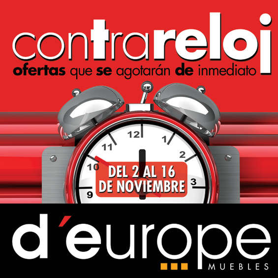 Ofertas de D'Europe, Ofertas Contrareloj d'Europe