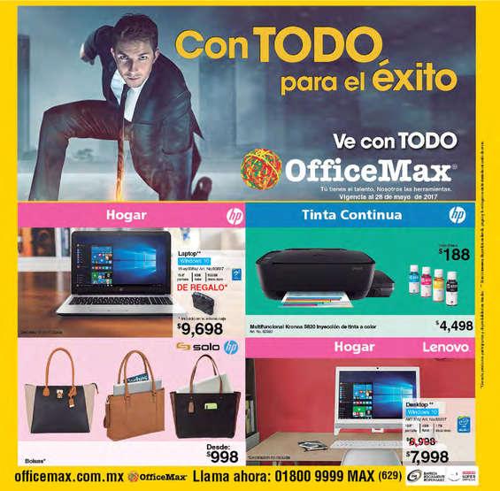 Ofertas de Office Max, Mayo