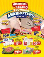 Ofertas de S-Mart, Viernes, sábado y domingo abarrotero - SENDERO