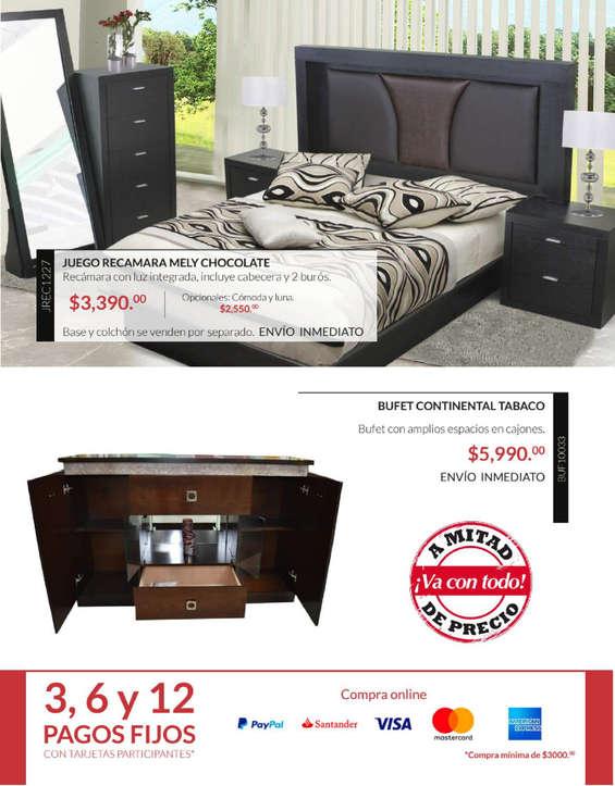 C moda alta dormitorio en san francisco coacalco cat logos ofertas y tiendas donde comprar - Muebles portillo catalogo ...