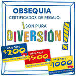 Ofertas de BUILD-A-BEAR, Certificados de regalo