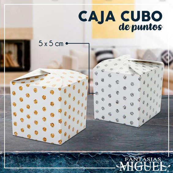 Ofertas de Fantasías Miguel, Caja cubo de puntos