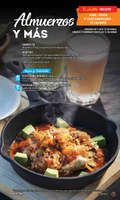 Ofertas de Toks Restaurante, Toks menu nacional