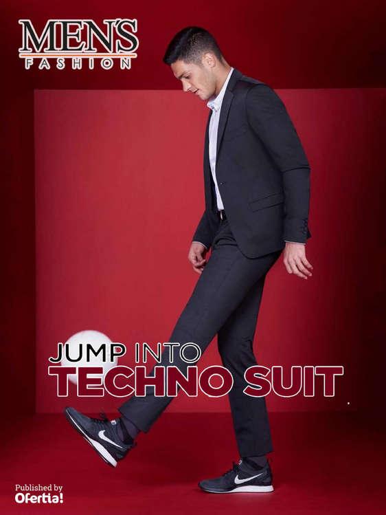 Ofertas de Men's Fashion, Jump Into Techno Suit