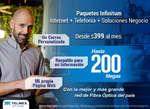 Ofertas de Telmex, Paquetes Infinitum