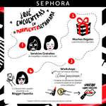 Ofertas de Sephora, Qué encuentras en movimiento sephora
