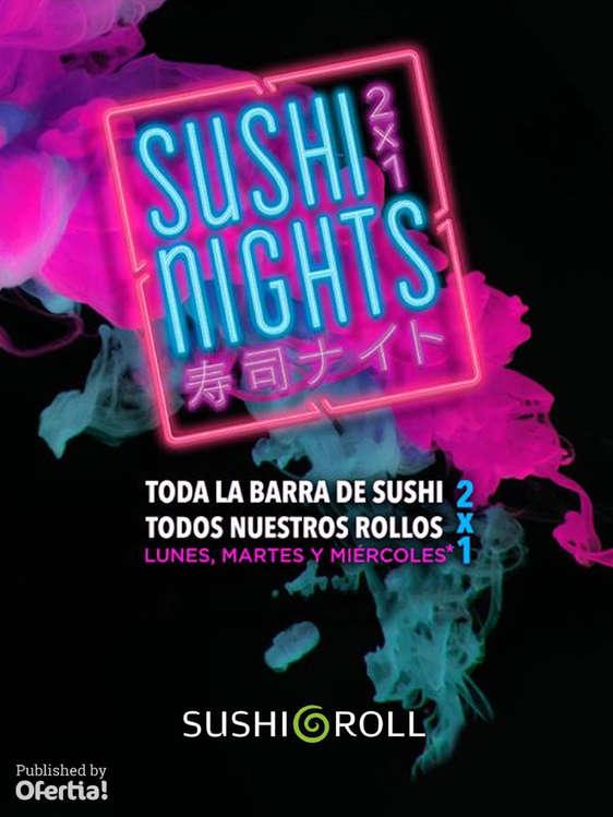 Ofertas de Sushi Roll, Sushi Nights 2x1