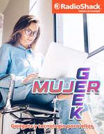 Ofertas de RadioShack, Mujer Geek