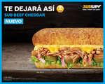 Ofertas de Subway, Nuevo sub beef cheddar