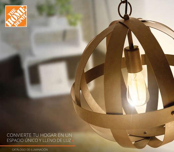 Ofertas de The Home Depot, Catálogo de Iluminación