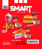 Ofertas de KFC, Smart Menu