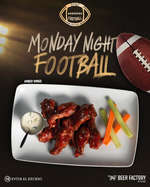 Ofertas de Beer Factory, Monday Night Football
