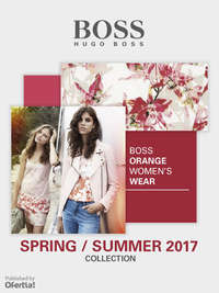 Boss Orange Womenswear Spring Summer 2017