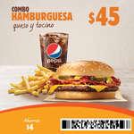 Ofertas de Burger King, Cupones