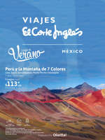 Ofertas de Viajes El Corte Inglés, Llegó el Verano - Perú y la Montaña de 7 Colores