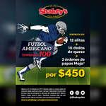 Ofertas de Shakey's Pizza, Promo NFL