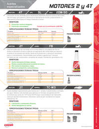 Catálogo lubricantes