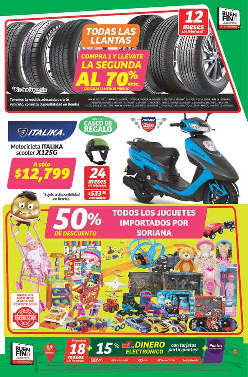 Ofertas de Soriana Mercado, Folleto Buen Fin Soriana Mercado