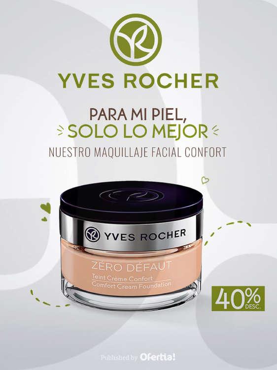 Ofertas de Yves Rocher, Maquillaje Facial Confort