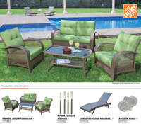 Catálogo decorativo patio y jardín