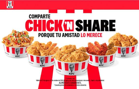 Ofertas de KFC, Chick N share
