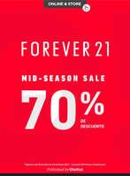 Ofertas de Forever 21, Rebajas MidSeason