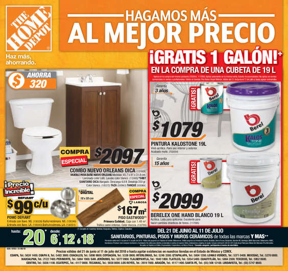 The Home Depot Azcapotzalco Cat Logos Ofertas Y