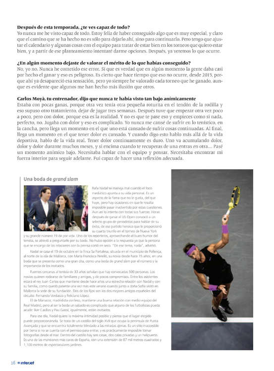 Ofertas de Interjet, Revista interjet octubre
