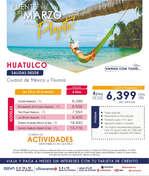 Ofertas de Euromundo, Huatulco
